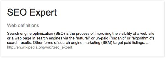 SEO-Expert-Definition