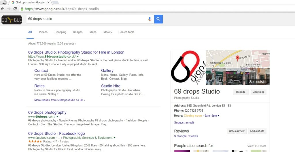 69-drops-Studio-on-Google