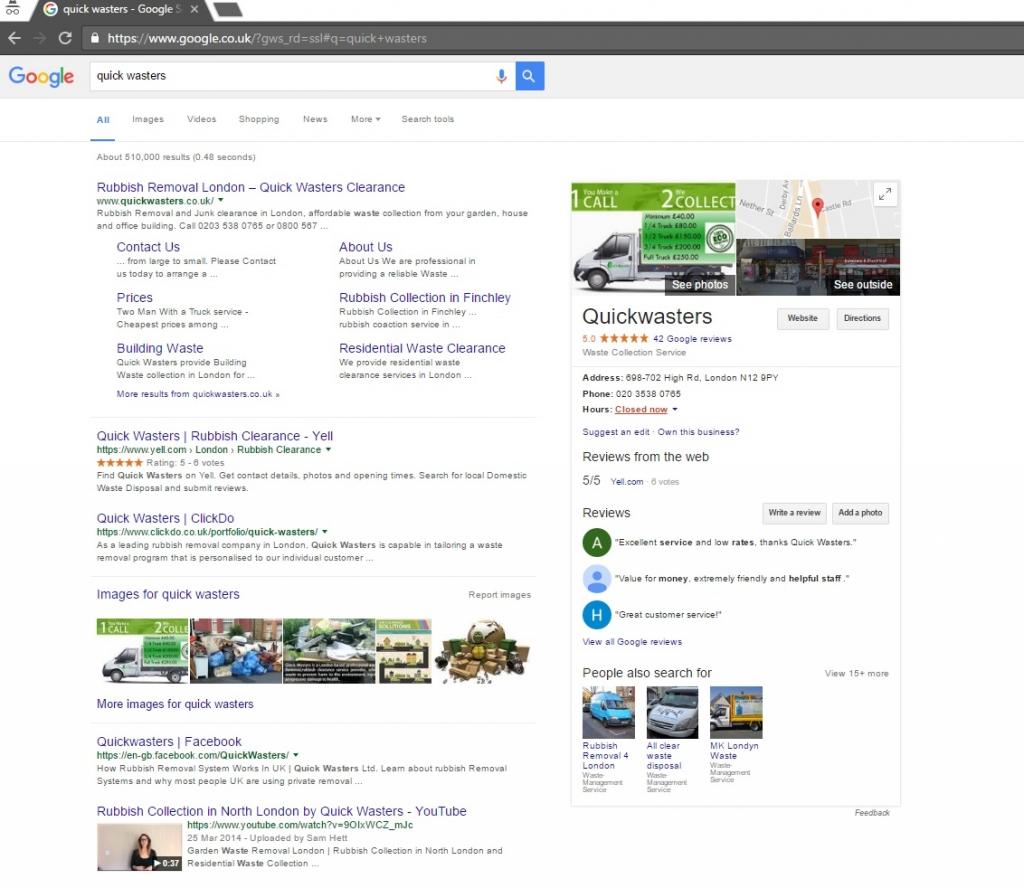quick-wasters-ltd-on-google