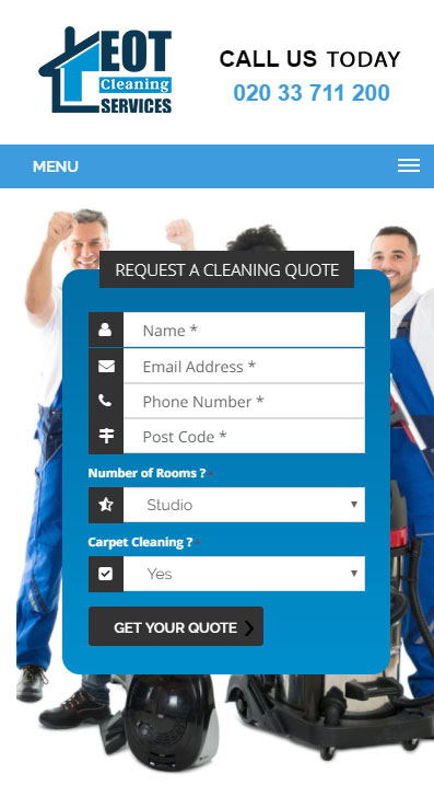 EOT-Cleaning-Services-New-Website-Mobile-View