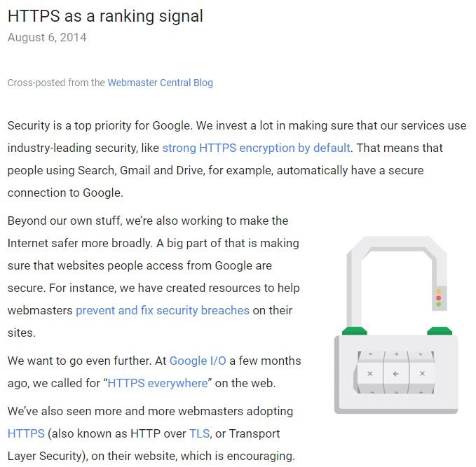 https-as-a-ranking-signal