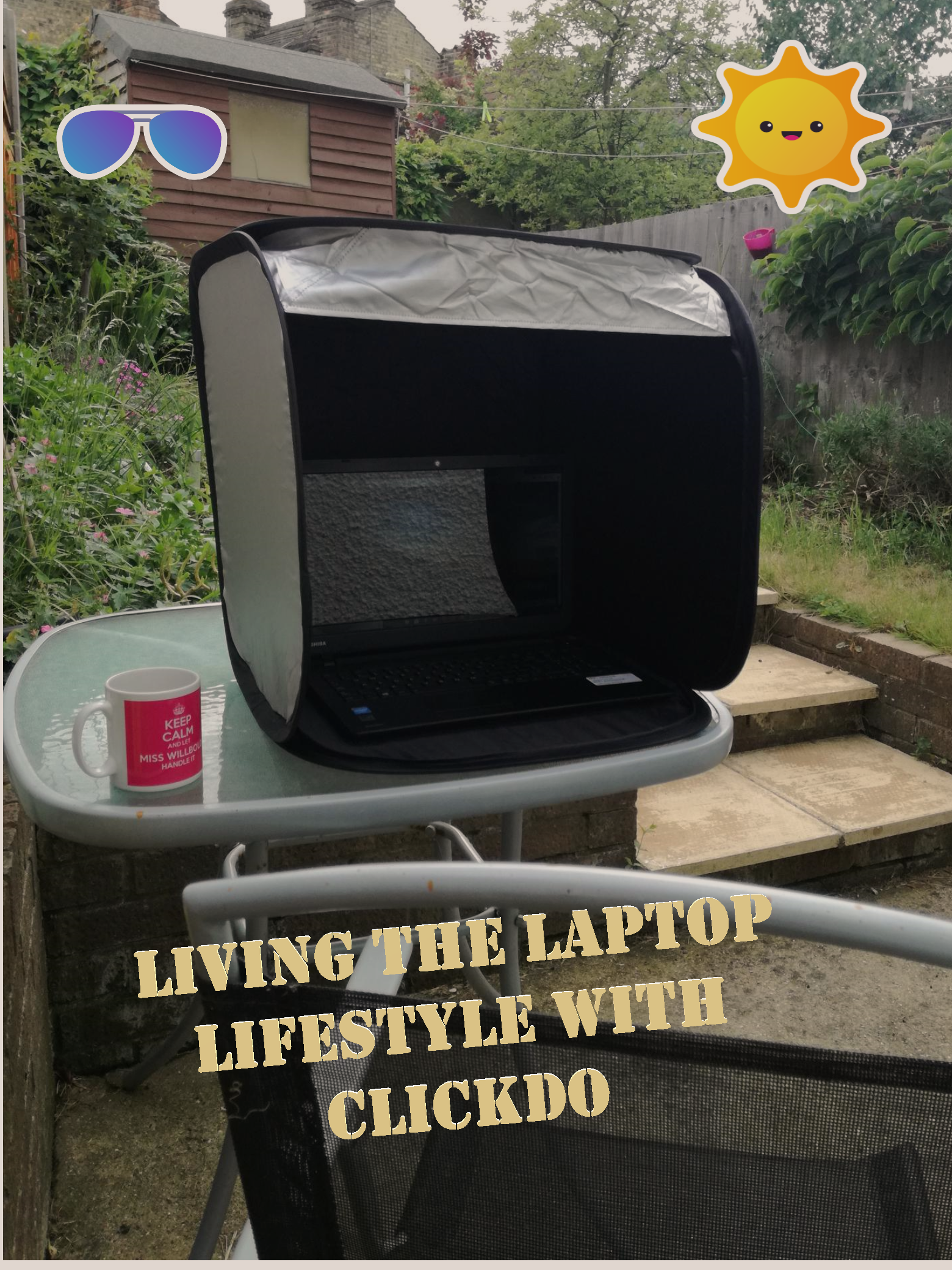 Living the Laptop Lifestyle (How Manuela Willbold Works