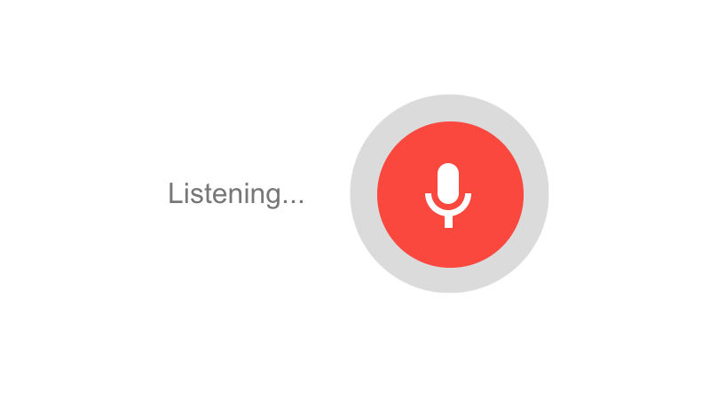 Google Voice Search AI