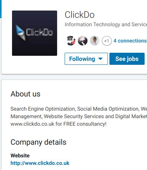 clickdo linkedin